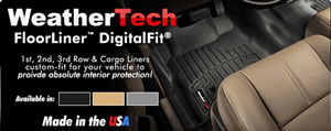 Weathertech Floorliners NOW IN STOCK!