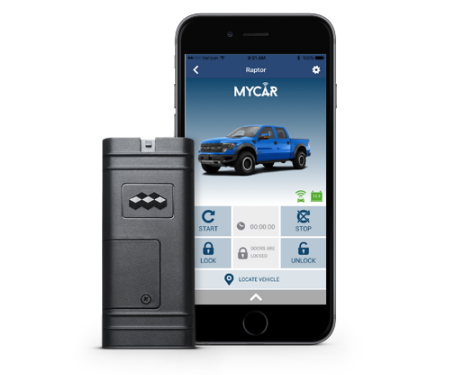 MyLink Remote Start App for your phone