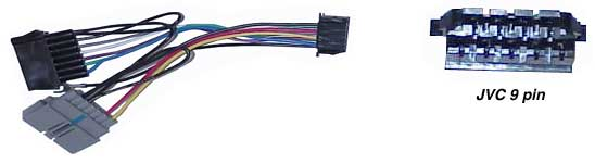 jvc9pin tune town car audio replacement radio wiring harness Ddx771 Kenwood Wire Harness at fashall.co
