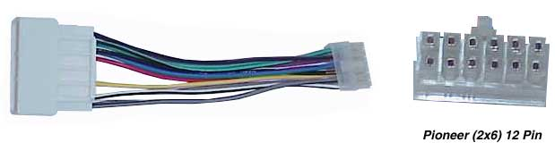 pioneer2x612pin tune town car audio replacement radio wiring harness replacement pioneer wiring harness at mifinder.co